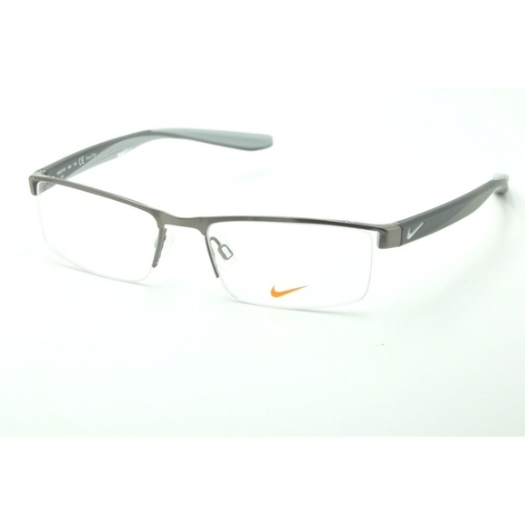 Black Nike Mens 8173 011 52 Optical Frames